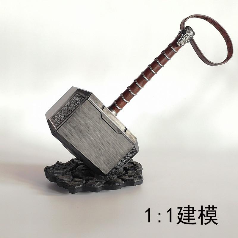 CATTOYS 1:1 The Avengers Thor Hammer Resin Replica Props Mjolnir Gifts New 40cm