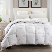 Stylish High Quality white Quilting Seam White Goose Down Quilt Blanket Duvet For White Cover Comforter Winter Was Warm 4 Size