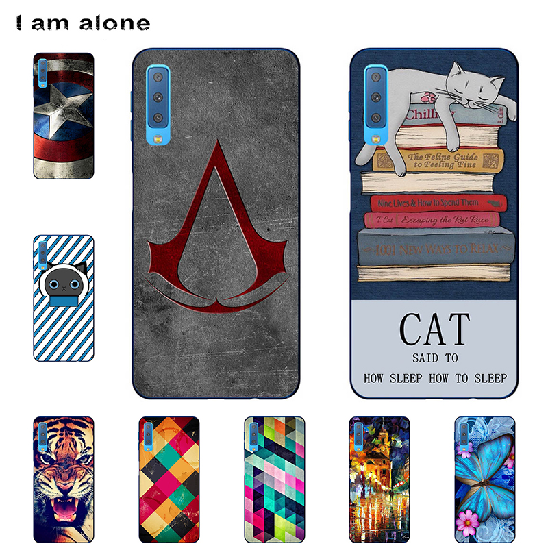 I am alone Phone Covers For <font><b>Samsung</b></font> Galaxy <font><b>A7</b></font> <font><b>2018</b></font> A750 <font><b>A730F</b></font> 6.0 inch Solf TPU Cellphone Fashion <font><b>Case</b></font> <font><b>A7</b></font> <font><b>2018</b></font> Shipping Free image