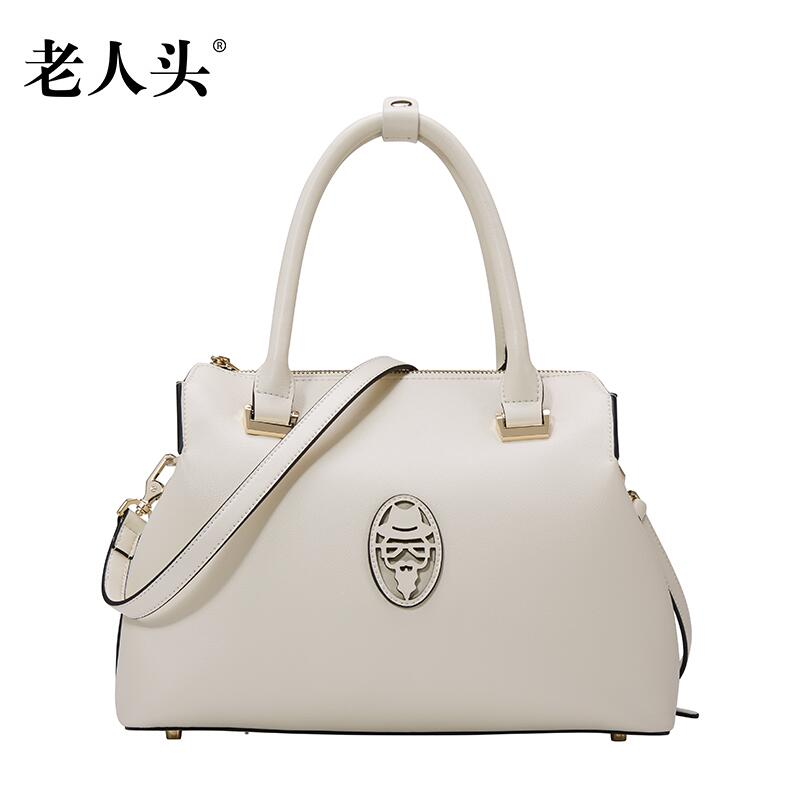 LAORENTOU2016 new high quality luxury fashion brands counter genuine leather bag hand diagonal women famous brands