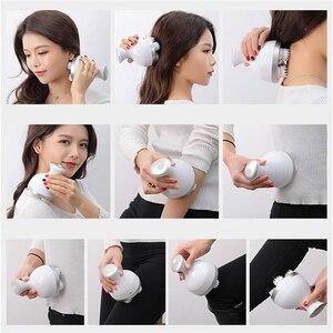Image 4 - Nieuwe Waterdichte Hoofd Massager Elektrische Vibrerende Draadloze Hoofdhuid Massager Voorkom Haaruitval Body Deep Tissue Kneden Gezondheidszorg