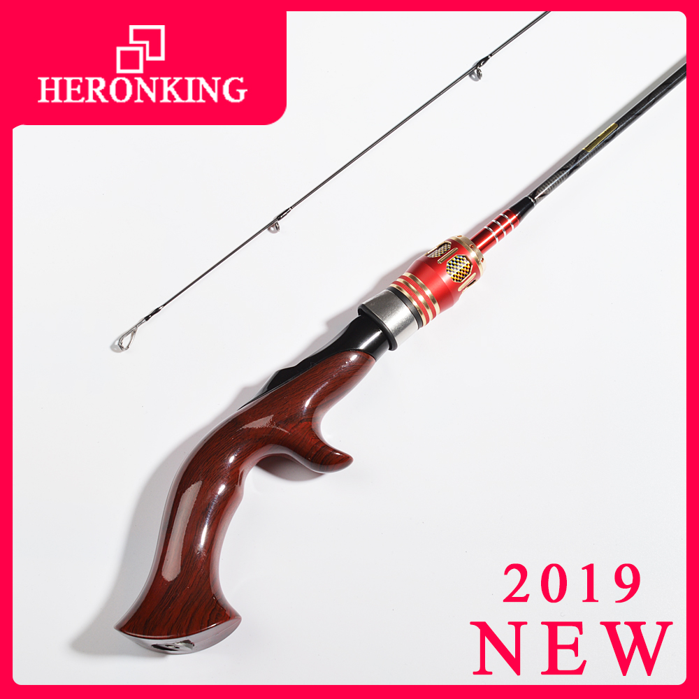 HERONKING 1.8m Ul Spinning Rod 0.8-5g Lure Weight Ultralight Carbon Spinning Rods Ultra Light Casting Fishing Rod Vara De Pesca