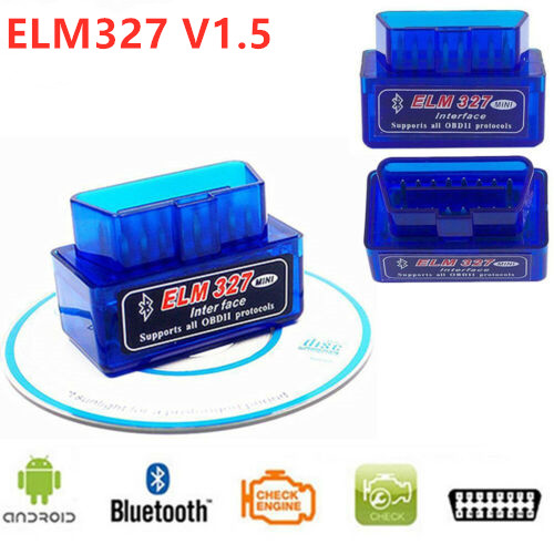 2019 Mini <font><b>ELM327</b></font> Bluetooth Echt <font><b>PIC18F25K80</b></font> Chip OBD2 V1.5 Auto Diagnose Werkzeug ULME 327 V 1,5 Diagnose-Scanner Für Android image