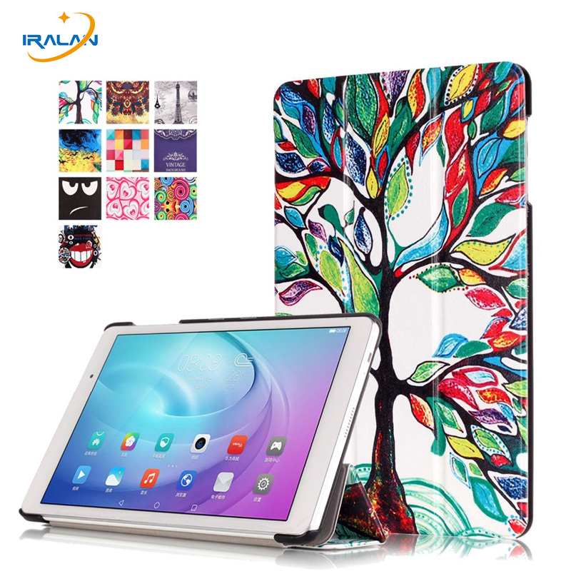 2017 New painted Stand PU Leather Case Flip Cover For Huawei MediaPad M2 Lite 10.1''FDR-A01W A03L T2 10.0 Pro case +Stylus+film new case for huawei media pad m2 lite ple 703l 7 cover pu leather flip folding case shell tablet pc cases stylus free shipping