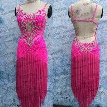 Rumba Jive Chacha Latin Dance Dress,ballroom dress,dance wear, fringe latin dress ,Sunflower Dance Dress