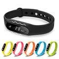 Pantalla Táctil inteligente Pulsera Bluetooth 4.0 SmartBands Impermeable Rastreador Heart Rate Monitor de Sueño Pulsera de Salud