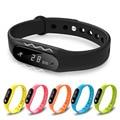 Pulseira inteligente Pulseira Bluetooth 4.0 SmartBands Tela de Toque À Prova D' Água Rastreador Saúde Freqüência Cardíaca Monitor de Sono Pulseira