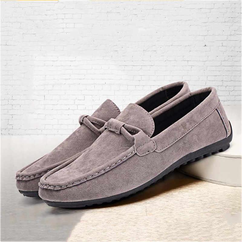 Neue mode Männer Wohnungen Atmungsaktive Licht Schuhe Schuhe Casual Schuhe Männer Mokassins Mokassins Mann Turnschuhe Peas Schuhe Schuhe Männer