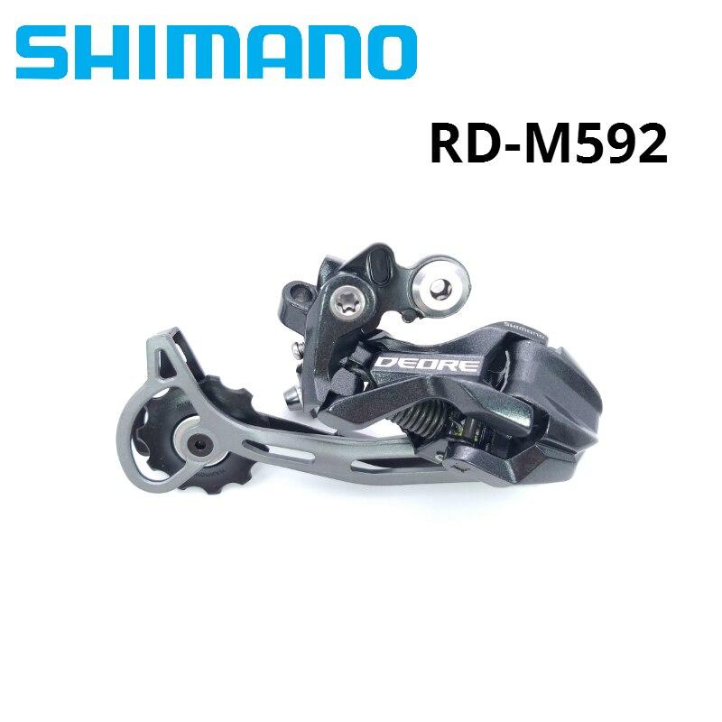 Dérailleur arrière Shimano DEORE XT RD-M592 9 vitesses 9 S M590 M591 M592 vtt vélo de montagne dérailleurs arrière