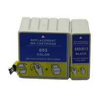 1Set T013/S020093/S020187/T050 T053 Ink Cartridge For Epson Stylus Color 600 640 660 670 Stylus Photo EX EX2 EX3 IP100