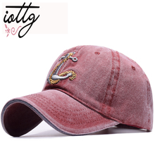 a9984ce92589fd IOTTG New Vintage Style Baseball Cap Old Pirate Ship Anchor Embroidery  Snapback Caps Fashion Sports Hats