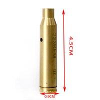 Ponto vermelho do laser do ponto vista furada ponto vermelho 223rem/9mm calibre cartouche vista laser despeje pistolet arma para caça acessório|Lasers| |  -