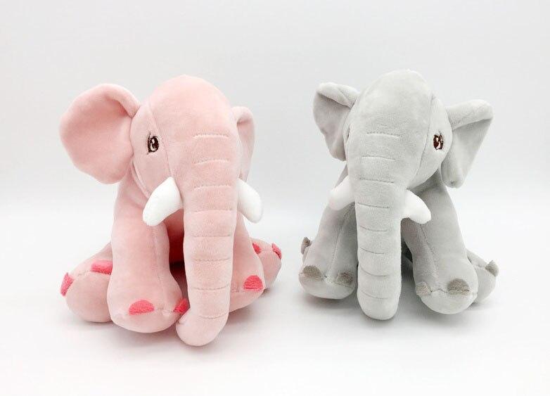 Baby Kids Kawaii Elephant 20CM Plush Stuffed Toy Doll Gift Sucker Pendant decoration Plu ...