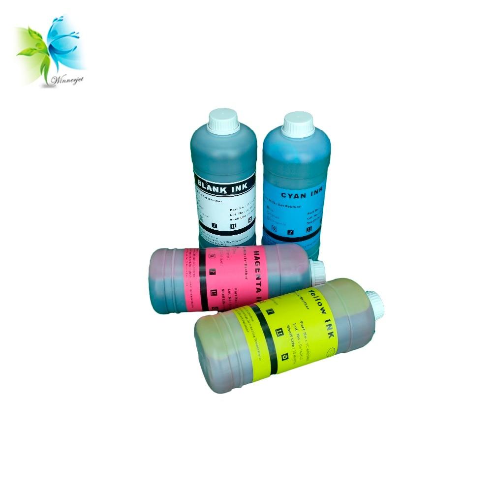 Radient 1000ml 4 Colors Art Paper Ink Art Pigment Ink For Epson T50 T60 P50 R200 R230 R260 R280 L1300 1390 1400 1410 1500w T1100 T1110 Printer Supplies Ink Refill Kits