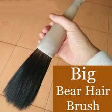 1 piece Large Chinese Calligraphy Brushes Weasel Bear Wool Mixed Hair Hopper-shaped Brush for Painting Art Supplies