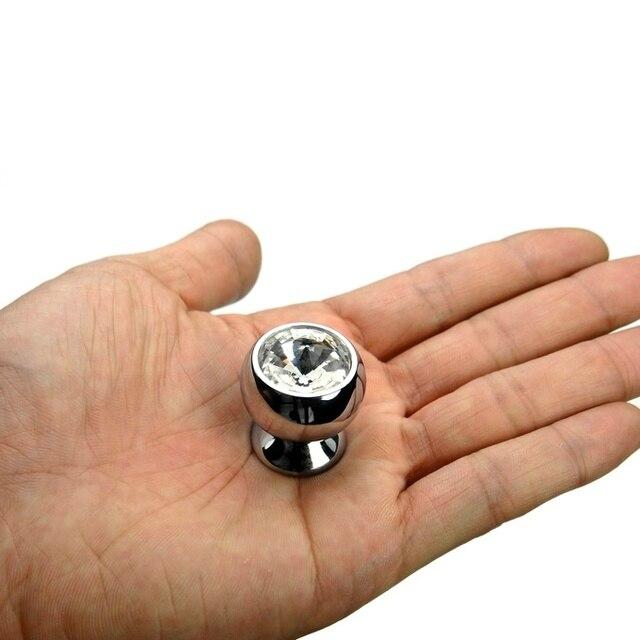 1 unidades ) VIBORG Deluxe K9 + latón 25 mm cristal perillas cocina ...