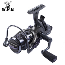 W.P.E TB-12 30FR/40FR/50FR/60FR Spinning Reel 9+1 BBs Front and Rear Drag System Freshwater Carp fishing reel Fishing Tackle цены