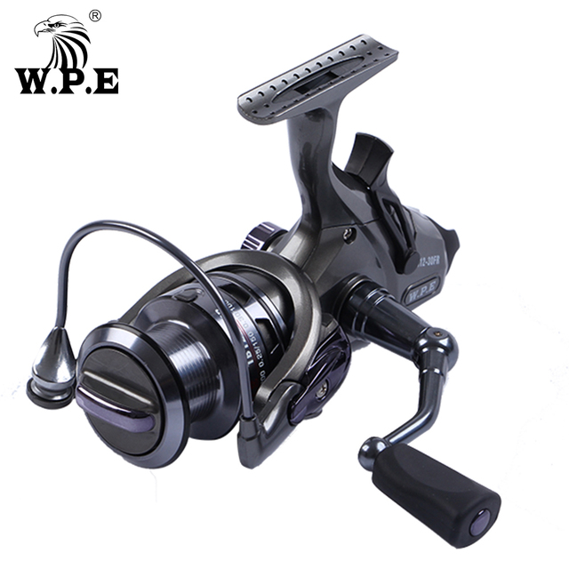 W.P.E TB-12 30FR/40FR/50FR/60FR Spinning Reel 9+1 BBs Front and Rear Drag System Freshwater Carp fishing reel Fishing Tackle