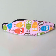 Practical Safety Car Seat Sleep Nap Aid Baby Kids Head Support Holder Belt Owl