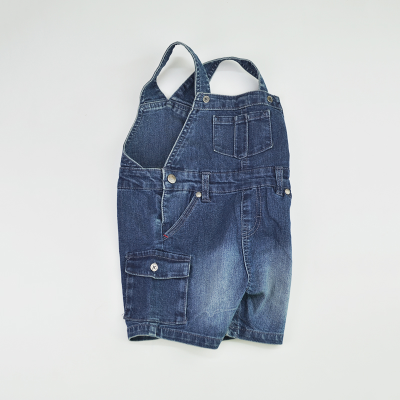 a7cfa2799441 Baby Shorts Denim Jeans Newborn Bebe Short Pants Jumpsuit Suspender Kids  Rompers Playsuit Patchwork Outfit Children Clothing -in Shorts from Mother    Kids ...