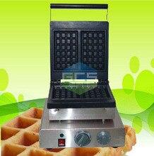 Бесплатная доставка квадратный вафельница машина 2 шт. пластины завтрак Ted baker