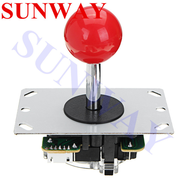 2player Arcade Game DIY Parts kit for PC and Raspberry Pi 1/2/3 with Retro Pie 5Pin Joystick + 5V LED Arcade Push Button