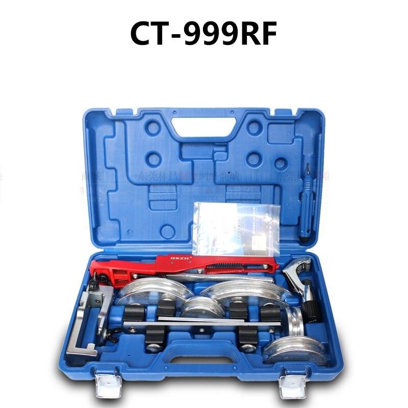 Flexion dispositif CT-999RF cuivre tuyau tube bender 10mm-22mm multi-dispositif de pliage Combinaison de la manuel levier dispositif de pliage