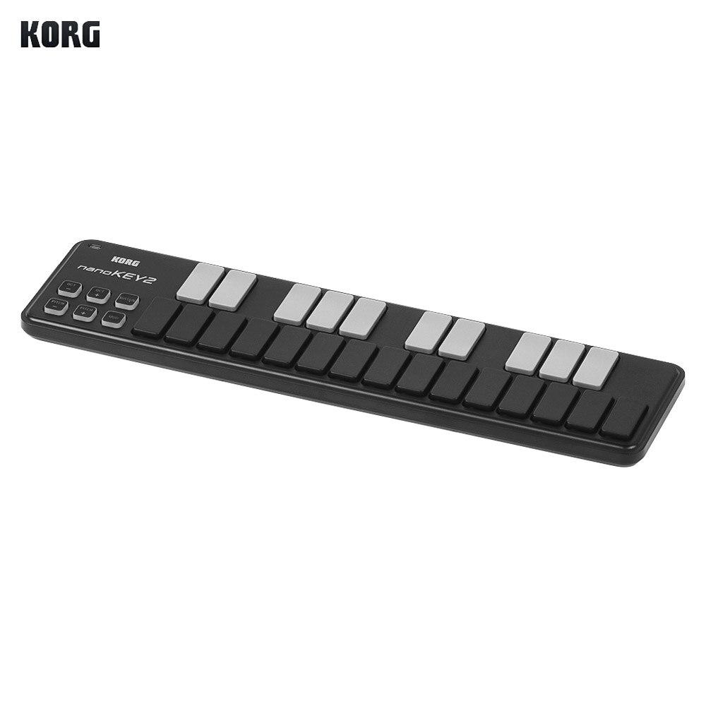 buy korg nanokey2 slim line midi keyboard usb midi controller keyboard 25 keys. Black Bedroom Furniture Sets. Home Design Ideas