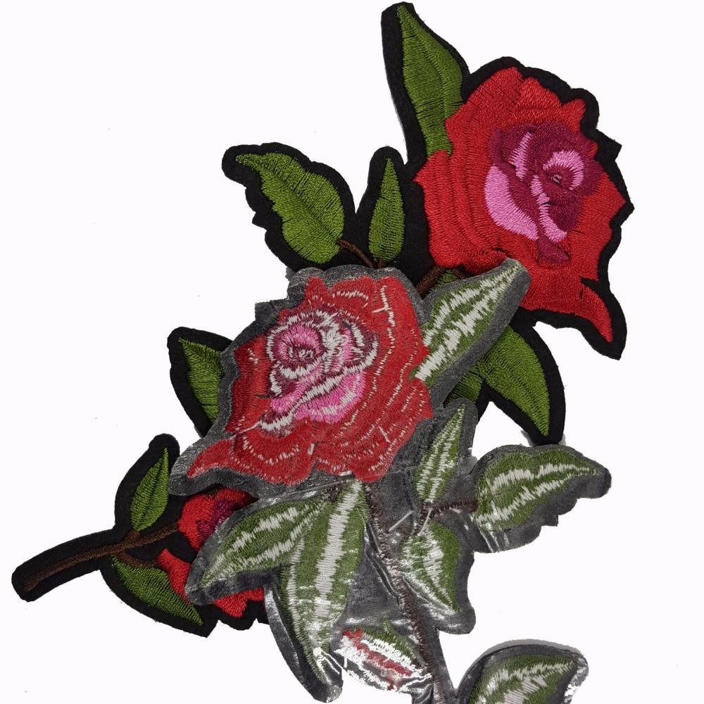 Pulsuz Göndərmə Yeni Moda Nice Flower Patch Geyimlər üçün - İncəsənət, sənətkarlıq və tikiş - Fotoqrafiya 6
