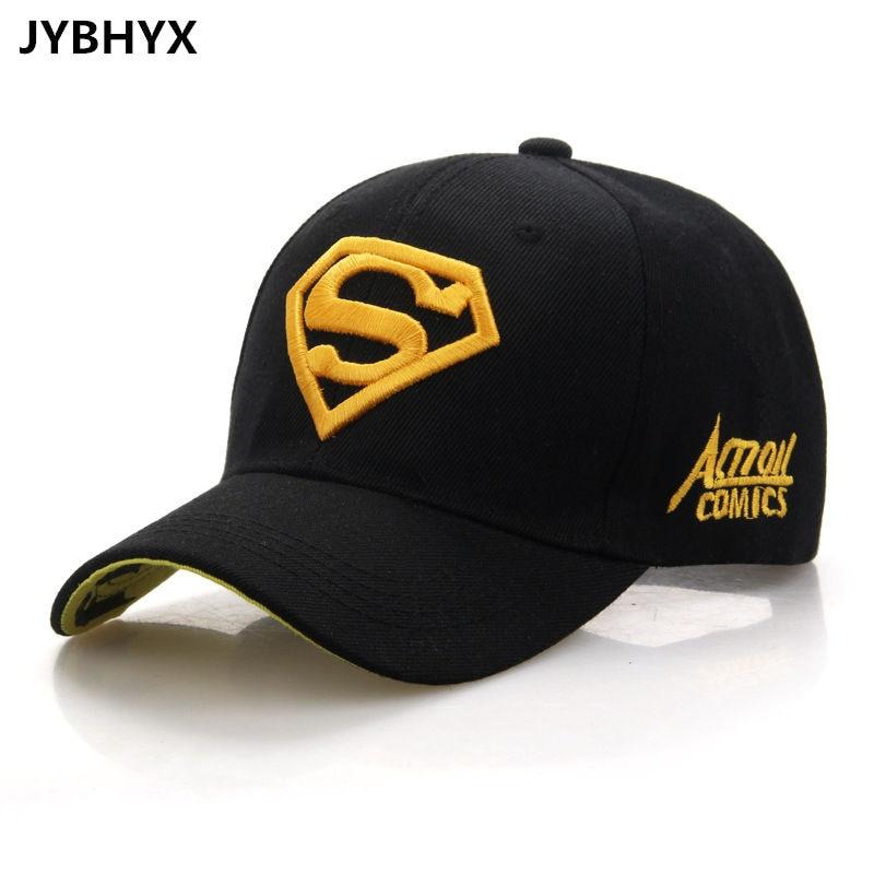 d0a27138ca9be JYBHYX Gorras Superman Cap Casquette Superman Baseball Cap Men Brand Women  Bone Diamond Snapback For Adult Trucker Hat 5001