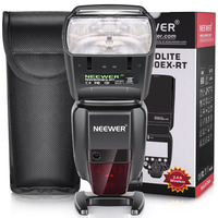 Neewer 2 4G HSS 1 8000s TTL GN60 Wireless Master Slave Flash Speedlite For Canon 7D