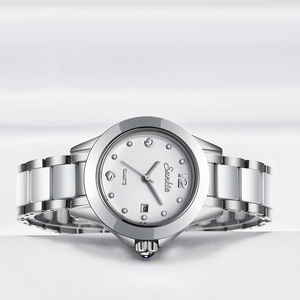 Image 4 - SUNKTA 2019 Top Luxury Brand Womens Rose Gold Watches Ladies Ultra thin Clock Fashion Boutique Girl Watch Senhoras Assistir