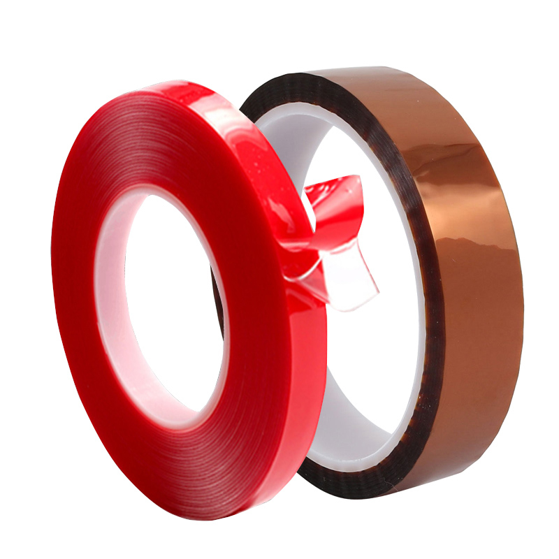 3m Red Double Sided Adhesive Tape Transparent Silicone and Heat Resistant Gold Polyimide Tape for Car Auto Interior Fixed3m Red Double Sided Adhesive Tape Transparent Silicone and Heat Resistant Gold Polyimide Tape for Car Auto Interior Fixed