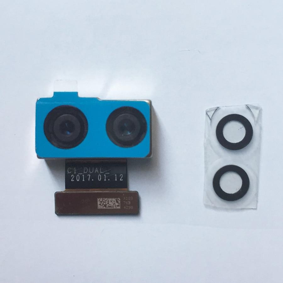 Original For Xiaomi Mi6 Mi 6 Rear Back Camera Module For Xiaomi 6 Back Big Camera Modules With Camera Glass Lnes