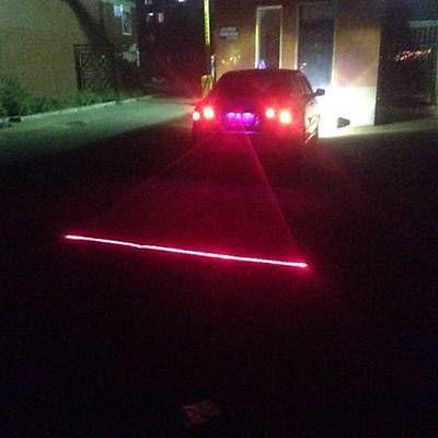 Автомобильный Универсальный Сигнализация Лазерный Туман Света Заднего Анти-Столкновения Задний Фонарь Сигнальная Лампа