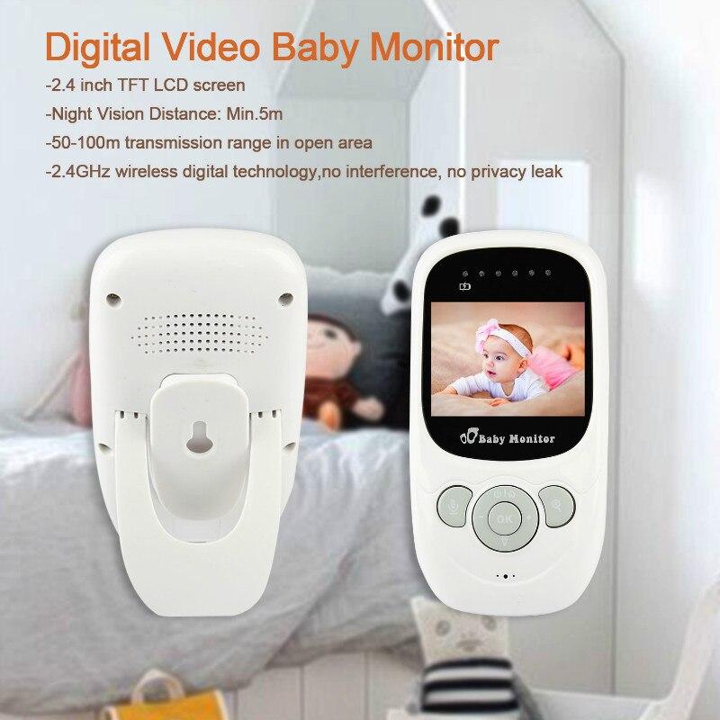 2,4 tums sova skärm LCD Night Vision IR Trådlös digital babyfoon - Barnsäkerhet - Foto 2