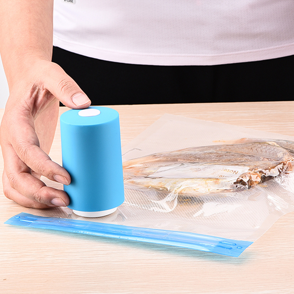 Mini Portable USB Rechargeable Automatic Vacuum Sealer Pump Machine With 6 Vacuum Bag Термос