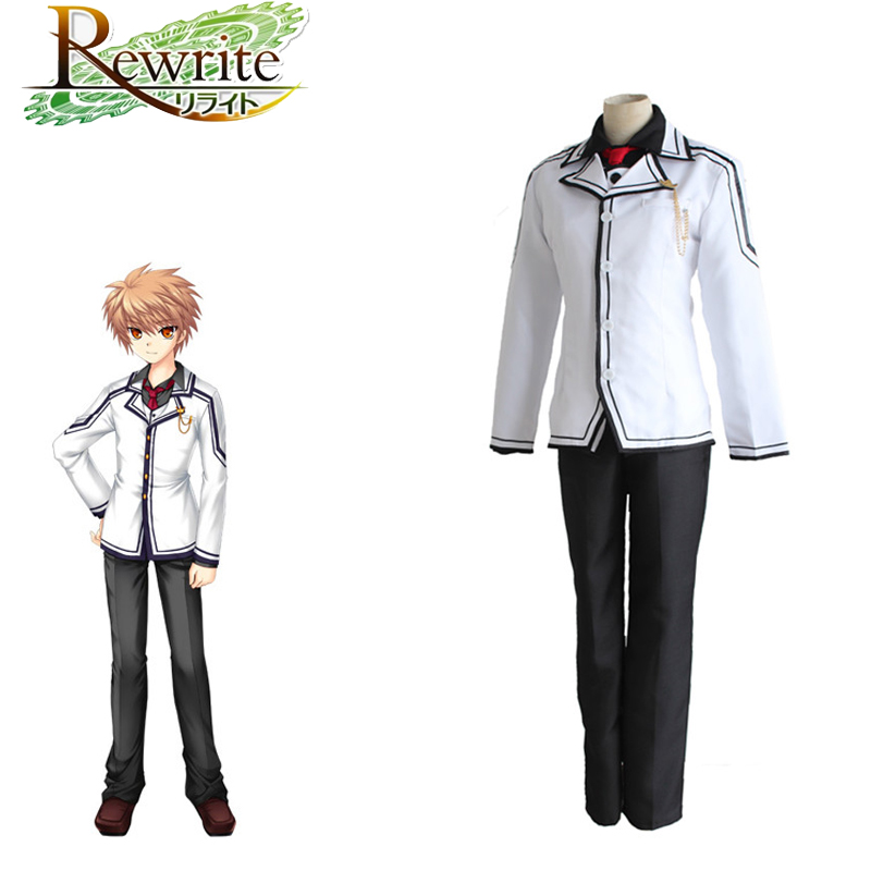 Tennouji Kotarou Cosplay Rewrite Anime Cosplay Japanese Costume Adults School Uniforms Suit Costumes For Halloween Party