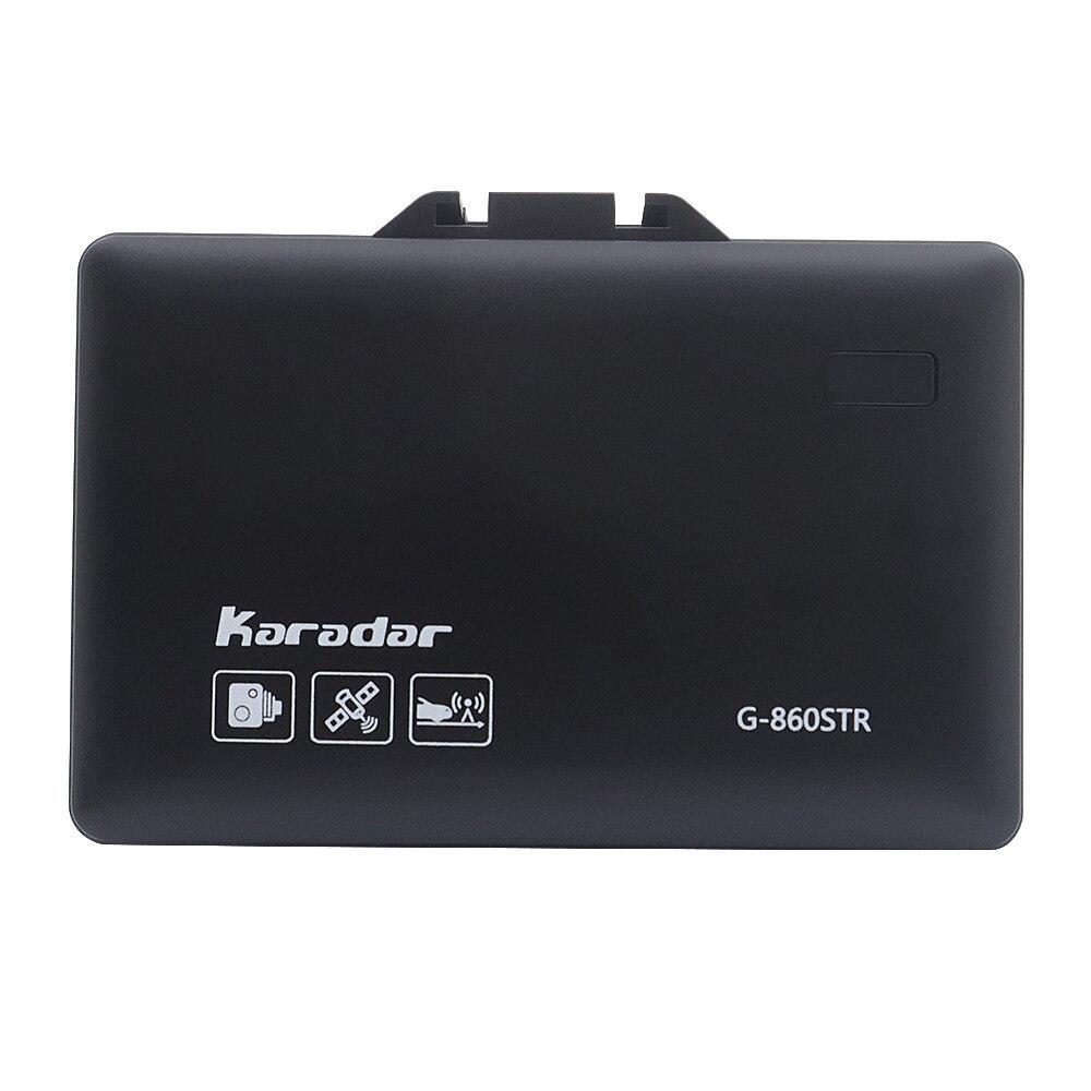 Détecteur anti-radar de GPS de voiture de Karadar 2 dans 1 GPS de vitesse de Police pour l'affichage russe de LED 360 degrés X K CT L avec l'affichage de 2.4 pouces - 4