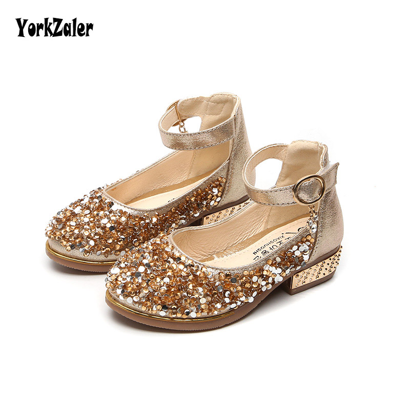 Detail Feedback Questions about Yorkzaler Kids Shoes For Girl Summer Princess  2018 Sequins Flats Wedding Children s Sandals Pink Gold Sliver Toddler Baby  ... 7338f8b48208