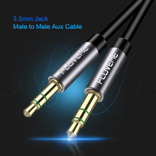 FLOVEME 3.5MM Jack AUX Audio Cable Gold-plated Male to Male Audio Cables 0.5m 1m 1.5m 2m AUX Cable For Car Headphone Computer
