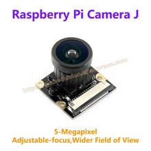 Buy Raspberry Pi Camera J Fisheye Lens Wider Field of View 5-Megapixel OV5647 Sensor Supports Raspberry Pi 2B 3 Model B