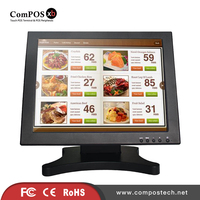 ComPOS High Quality 15 Inch Touch Screen Monitor Butterfly Shape Base Monitor Stand For Cinema