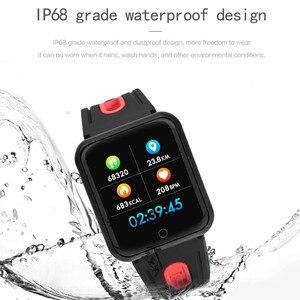 Image 5 - AMYNIKEER sporting waren uhr P68 smart watch IP68 WASSERDICHTE fitness armband tracker heart rate monitor männer frauen smart watch