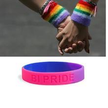 LGBTQ+ BRACELETS Gay Pride Rainbow Unisex Bracelet Jewellery Lesbian Trans  Love