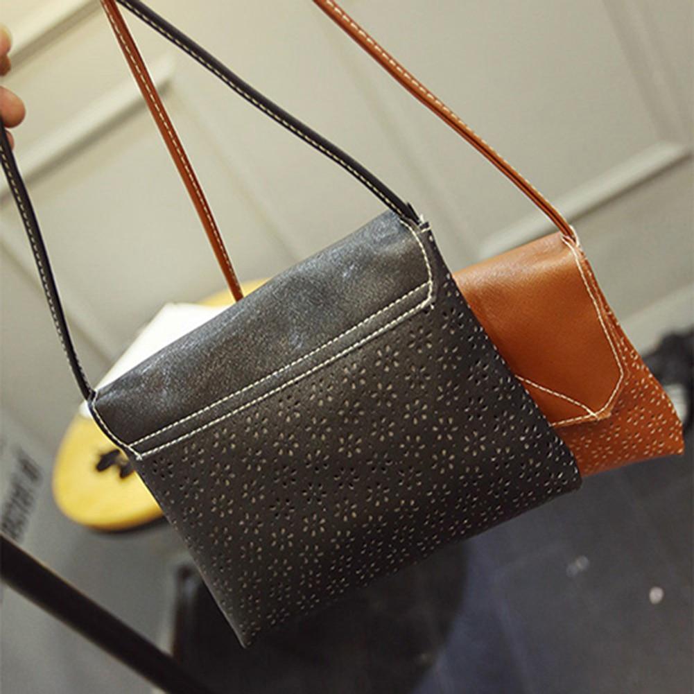 a0c984baa729 ②Women Handbag Shoulder Bag Faux Leather Messenger Hobo Bag Satchel ...