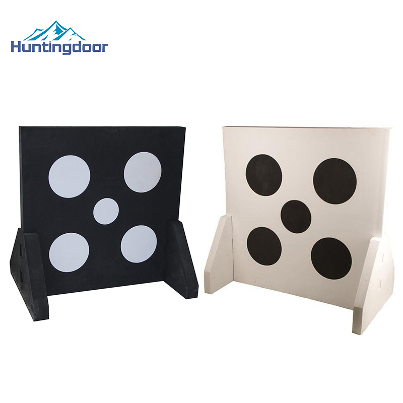 2017 2 Pcs Black and White New Outdoor Games Archery Target for Hunting Shooting Bow Arrow Archery Accessory