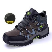SENTA New arrival winter hiking shoes quality plush warm men women trekking shoes authentic antiskid waterproof sneakers
