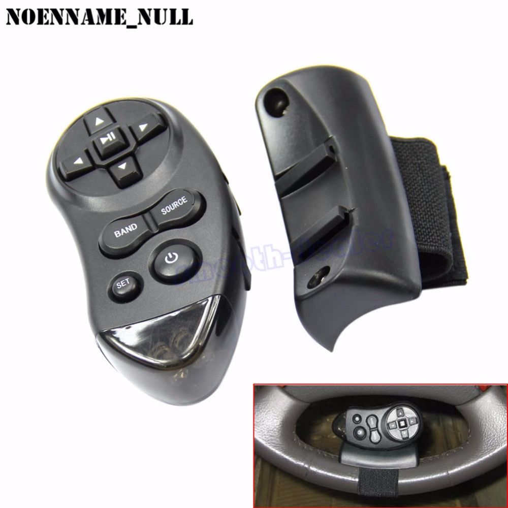 NoEnName_Null Universal Steering Wheel Learning Bluetooth Remote Control For Car CD DVD VCD #kui