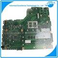 Placa madre para asus x75vd placa madre del ordenador portátil con cpu i5 no instegrated a bordo, la placa del sistema, mainboard